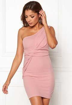 Chiara Forthi Elsa oneshoulder dress Pink Bubbleroom.no