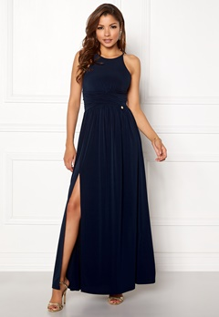Chiara Forthi Erica Maxi Dress Dark blue Bubbleroom.no
