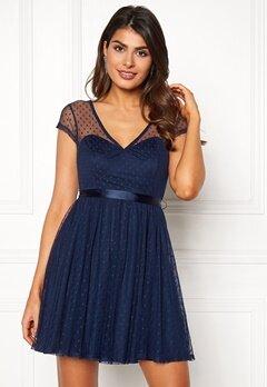 Chiara Forthi Esmeralda dress Dark blue Bubbleroom.no