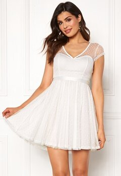 Chiara Forthi Esmeralda dress White Bubbleroom.no