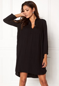 Chiara Forthi Everett Shirt Dress Black Bubbleroom.no