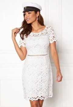 Chiara Forthi Felizia Lace Dress Cream Bubbleroom.no