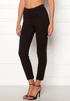 Chiara Forthi Fiorella Trousers Black Bubbleroom.no