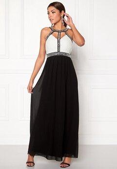 Chiara Forthi Fraser Embellished Dress Black / White / Silver Bubbleroom.no