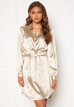 Chiara Forthi Genesis shirt dress Champagne Bubbleroom.no