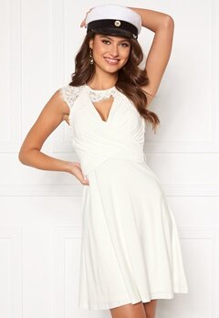 Chiara Forthi Genevra Dress White Bubbleroom.no
