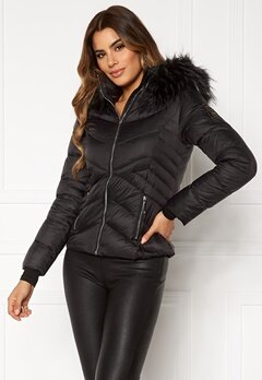 Chiara Forthi Genua Short Down Jacket Black Bubbleroom.no