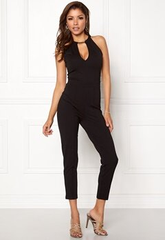 Chiara Forthi Ghia Jumpsuit Black Bubbleroom.no