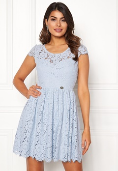 Chiara Forthi Guidia lace dress Light blue Bubbleroom.no
