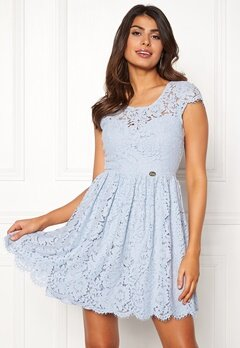 Chiara Forthi Guidia lace dress Light blue Bubbleroom.no