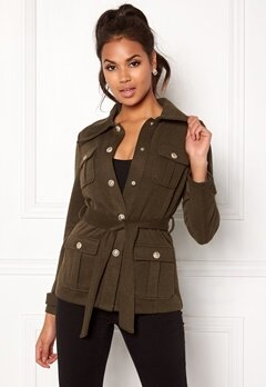 Chiara Forthi Intrend Officer Jacket Green Bubbleroom.no