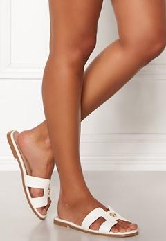 Chiara Forthi Isla slip in sandal White Bubbleroom.no