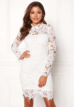 Chiara Forthi Jaqueline dress White Bubbleroom.no