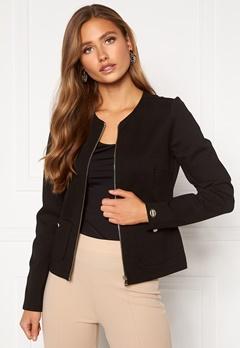 Chiara Forthi Jaquline button jacket Black Bubbleroom.no