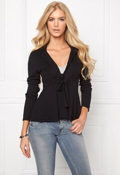Chiara Forthi Kelly Cotton Cardigan Black Bubbleroom.no