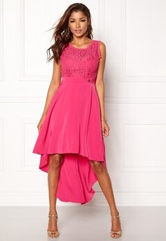 Chiara Forthi Kimberly Highlow Dress Cerise Bubbleroom.no