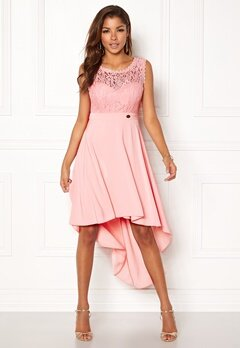 Chiara Forthi Kimberly Highlow Dress Light pink Bubbleroom.no