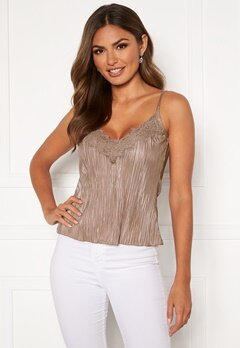 Chiara Forthi Kith lace singlet Beige Bubbleroom.no