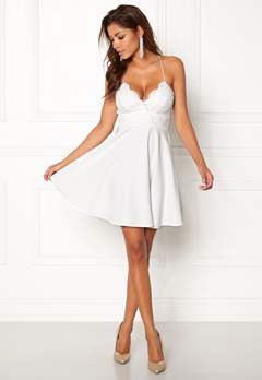 Chiara Forthi Kylee Dress White Bubbleroom.no
