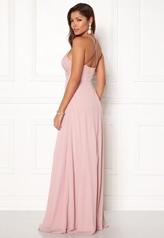 Chiara Forthi Kylee Maxi Dress Pink Bubbleroom.no
