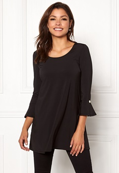 Chiara Forthi Leah tunic Black Bubbleroom.no