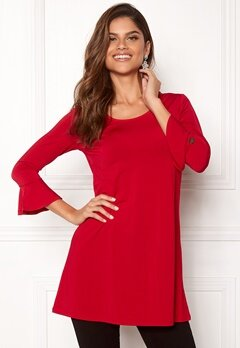 Chiara Forthi Leah tunic Red Bubbleroom.no