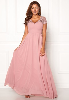 Chiara Forthi Leighann Gown Pink Bubbleroom.no