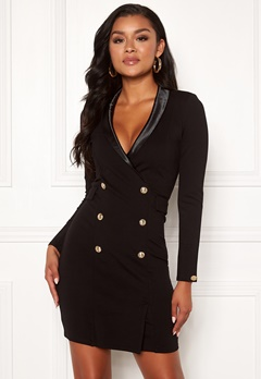 Chiara Forthi Lucca blazer dress Black Bubbleroom.no