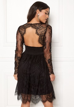 Chiara Forthi Lucette lace dress Black Bubbleroom.no