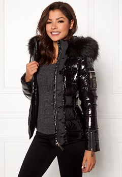 Chiara Forthi Madesimo Highgloss Down Jacket Black Bubbleroom.no