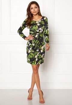 Chiara Forthi Marjorie Dress Black / Floral Bubbleroom.no