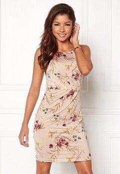 Chiara Forthi Marjorie Sleeveless Dress Beige / Floral Bubbleroom.no