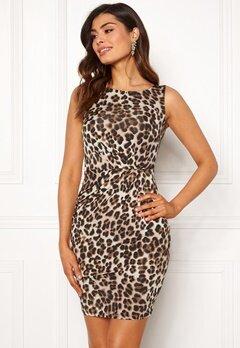 Chiara Forthi Marjorie Sleeveless Dress Leopard Bubbleroom.no