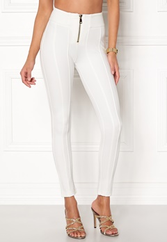Chiara Forthi Marquesa trousers Offwhite Bubbleroom.no
