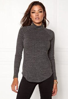 Chiara Forthi Martarella Top Dark grey melange Bubbleroom.no