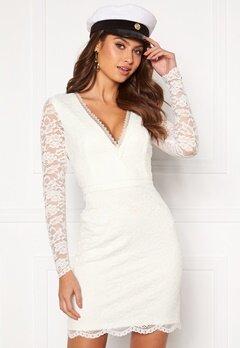 Chiara Forthi Mathilde lace dress White Bubbleroom.no