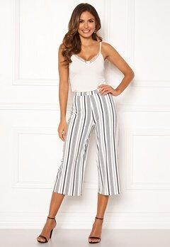 Chiara Forthi Mauritius pants Striped / Offwhite / Black Bubbleroom.no