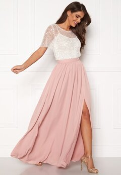 Chiara Forthi Maxime skirt Dusty pink Bubbleroom.no
