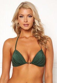 Chiara Forthi Monaco triangle padded bra Emerald green Bubbleroom.no