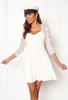Chiara Forthi Natalia Dress White Bubbleroom.no