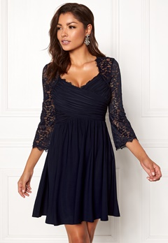 Chiara Forthi Nathalia Dress Dark blue Bubbleroom.no