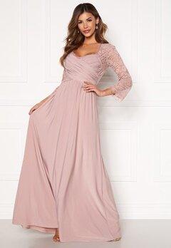 Chiara Forthi Nathalia Maxi Dress Dusty lilac Bubbleroom.no