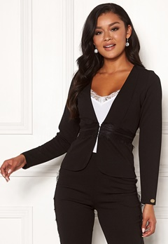 Chiara Forthi Nikita Suit Jacket Black Bubbleroom.no