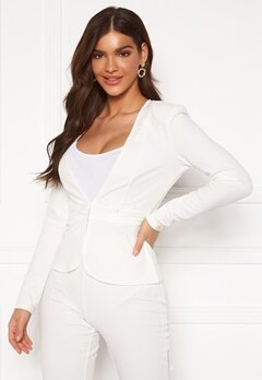 Chiara Forthi Nikita Suit Jacket White Bubbleroom.no