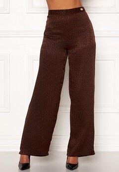 Chiara Forthi Noemi Sleek Pants Brown Bubbleroom.no