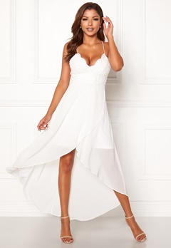 Chiara Forthi Ofelia Crochet Dress White Bubbleroom.no