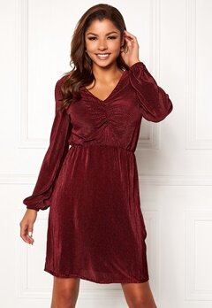 Chiara Forthi Perla dress Wine-red Bubbleroom.no