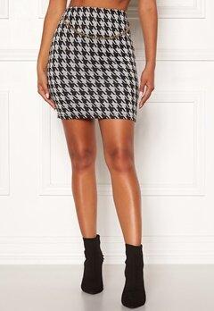 Chiara Forthi Peroni chain skirt Black / White Bubbleroom.no