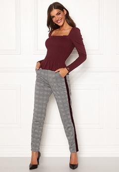 Chiara Forthi Pietra pants Grey / Checked Bubbleroom.no