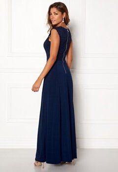 Chiara Forthi Piubella Maxi Dress Midnight blue Bubbleroom.no